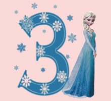 Disney Frozen Elsa 3rd Birthday by sweetsisters