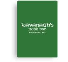 The Wire - Kavanagh's Irish Pub Canvas Print