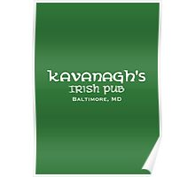 The Wire - Kavanagh's Irish Pub Poster