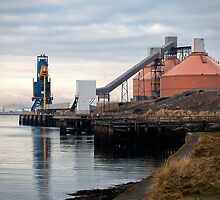 Port of Blyth by Violaman