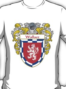 Wallace Coat of Arms / Wallace Family Crest T-Shirt
