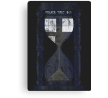 The Tardis Time Lord Timer Canvas Print