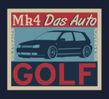 Volkswagen Golf Mk4 RETRO by TheGearbox