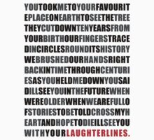 Laughter Lines Lyrics by RosiesStuff
