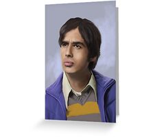 Koothrapali Greeting Card