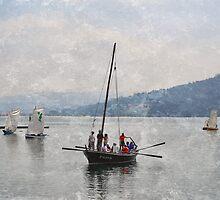 A chegada ao porto by rentedochan