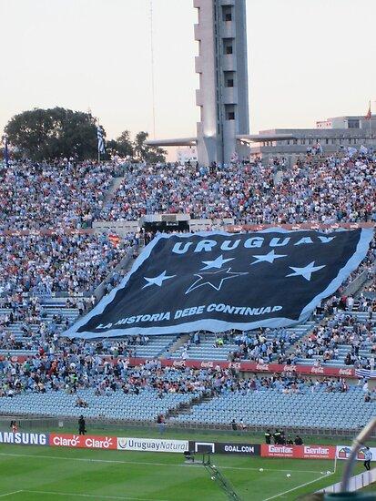 Uruguay- La Historia Debe Continuar by bethanynjones