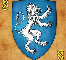 Lion Rampant To Sinister by Cleave