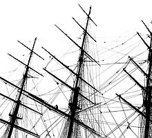 Cutty Sark Ship by Fangpunk