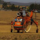 Preparation in the key for high fire risk taken 15th Jan  14 Canberra by Kym Bradley