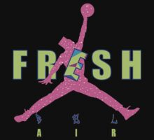 Bel air 5s shirt-Jordan V shirt Fresh prince jumpman T-Shirt