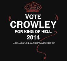 Vote Crowley (white) by typelocked