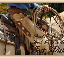 Great To See You Back In The Saddle by Barbara  Jean