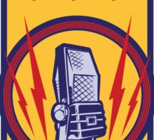 Radio Tube Box Sticker