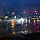 RT 2 and Limestone Rd on a rainy Friday evening by nastruck