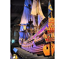 """The Vasa""""  ( 4 ) A Scale Model Photographic Print"""