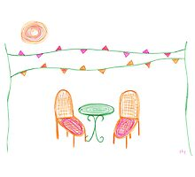 Come to the party by Sally Kate Yeoman