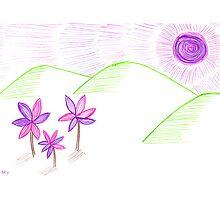 Beneath the purple sun by Sally Kate Yeoman