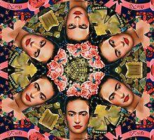 Frida Kahlo-idoscpe by Jorge H. Elias