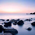Beautiful serene sunrise in Al Aqqa beach, Fujairah, UAE by naufalmq