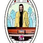 Jesse Pinkman Saint Medal Inspired Breaking Bad design by basedclaud