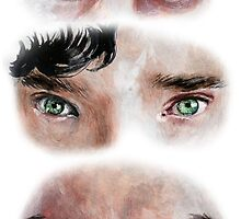 The Eyes of BBC's SHERLOCK by MissMonik