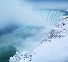 Niagara Falls in Winter art photo print by ArtNudePhotos