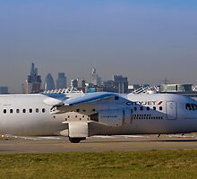 Avro RJ85 Jet London by DavidHornchurch