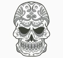 Skull Vector Design by xanthos84