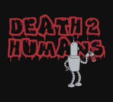 Death 2 Humans by MightyRain