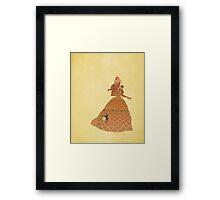 Belle - Beauty & The Beast - Disney Inspired Framed Print