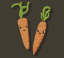 Kawaii carrot  by Richard Laschon