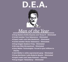 Walter White DEA man of the year by cunfuuzed