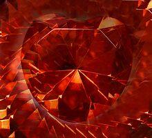 Fractal Heart by WildestArt