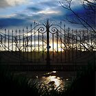 Sunset Gate by Cranemann