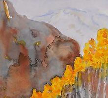 Colorado Aspen Landscape by Warren  Thompson