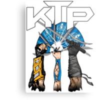 Kombat Tomb Podcast T-Shirt Logo Metal Print