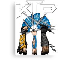 Kombat Tomb Podcast T-Shirt Logo Canvas Print