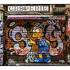 Shutters down on Aix Creperie in Centre Place by melbournedesign