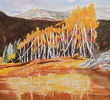 Snowmass Canyon near Aspen Colorado by Warren  Thompson