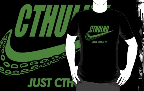 Just Cthul it. (green) by J.C. Maziu