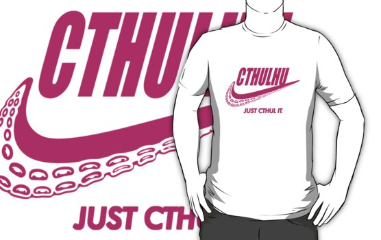 Just Cthul it. (pink) by J.C. Maziu