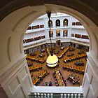 Archway View of Reading Room by Charles Kosina