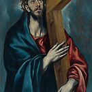 El Greco - Christ Carrying the Cross by TilenHrovatic