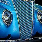 Sky Blue Vintage by Cee Neuner