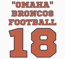 Property of Omaha Broncos Funny Parody Football Hoodie by xdurango