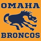 Omaha  Denver Broncos Parody Funny Football T-Shirt by xdurango