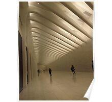 The New World Trade Center Passenger Concourse, Lower Manhattan, New York City  Poster