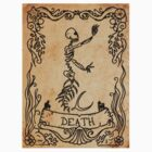 Mermaid Tarot Sticker: Death by SophieJewel