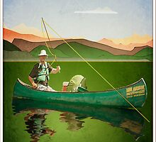 Fly-fishing on the Semois by Steven House